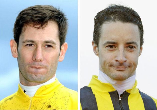 ルメール騎手とデムーロ騎手