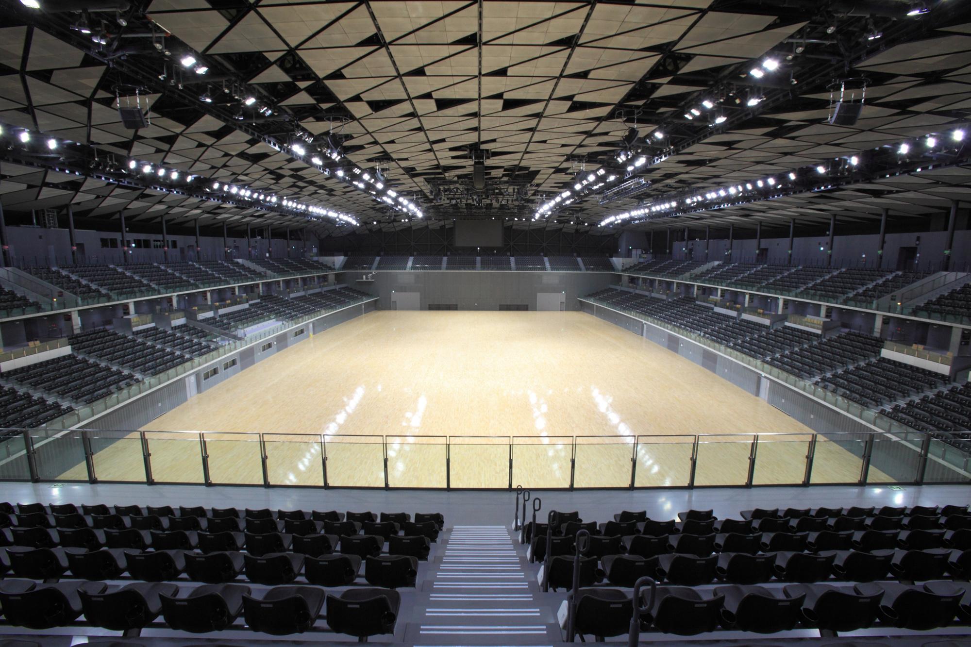 武蔵野の森総合スポーツプラザ(第4週東京大会会場)