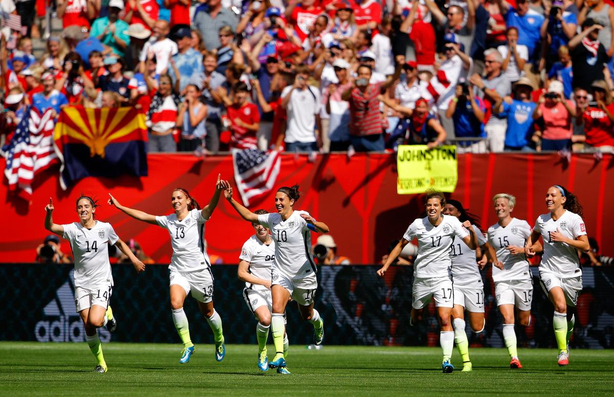 2015年女子ワールドカップカナダ大会決勝戦