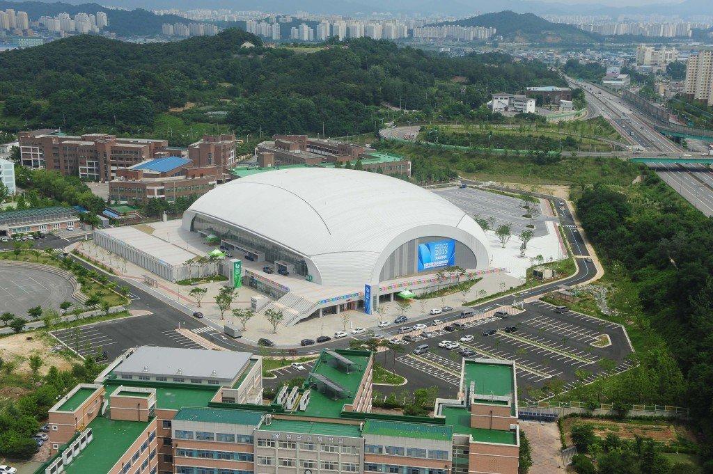 韓国・光州(2019年世界水泳選手権開催地)