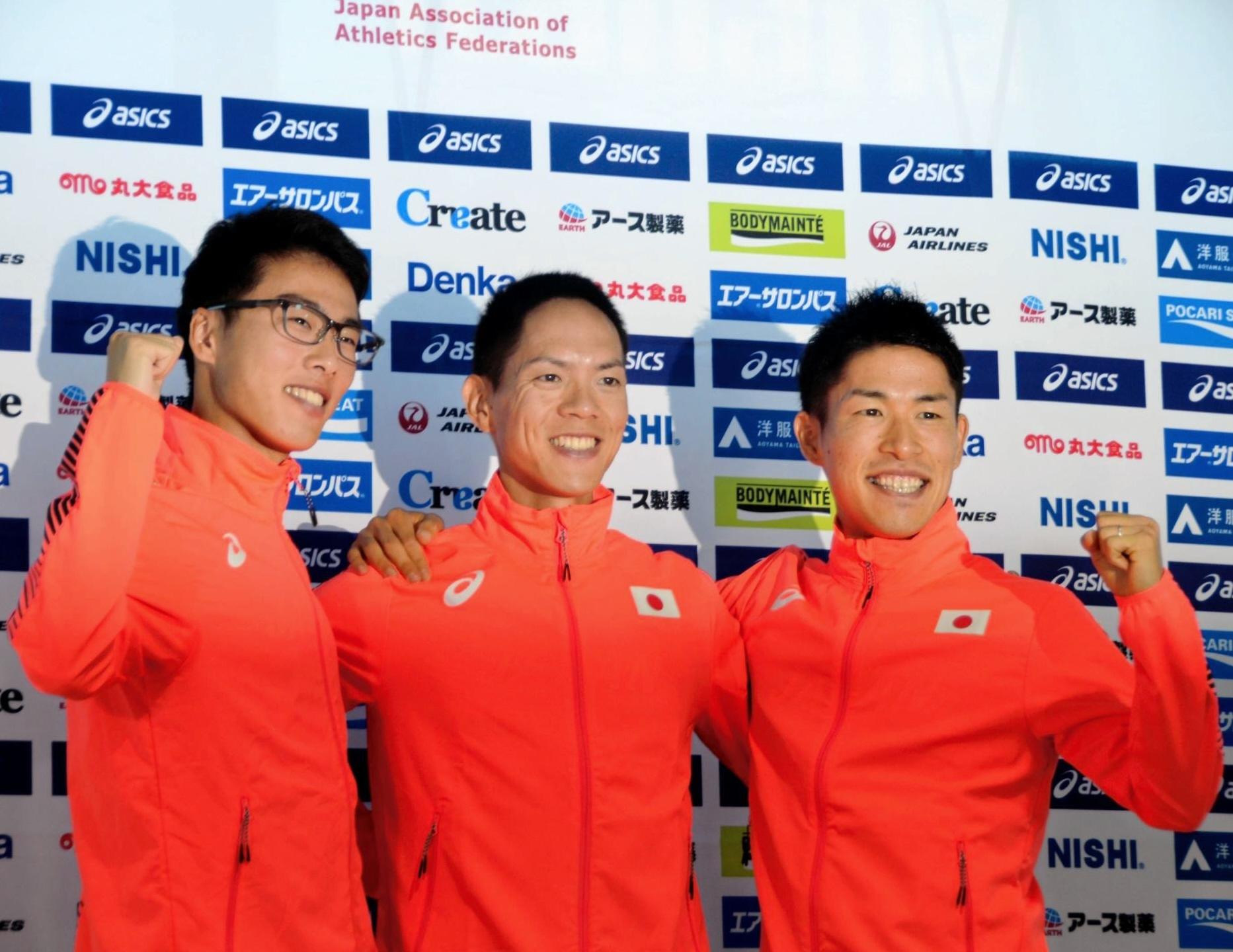 日本男子50㎞競歩代表