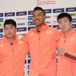 日本男子4×100mリレー代表