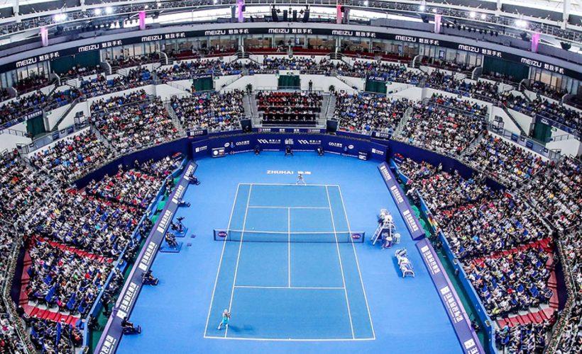 深セン湾体育中心(2019年WTAファイナルズ会場)