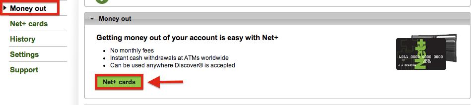 NETELLER Withdrawal Net+ Prepaid Card USA Resident