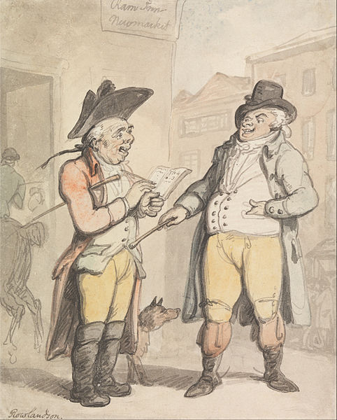 The Bookmaker and his Client