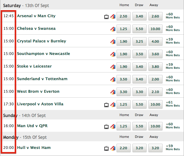 Paddy Power Game Time