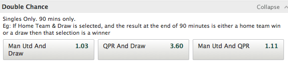 Paddy Power Double Chance