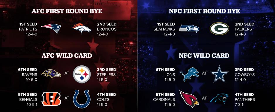 2015 NFL Playoff Bracket