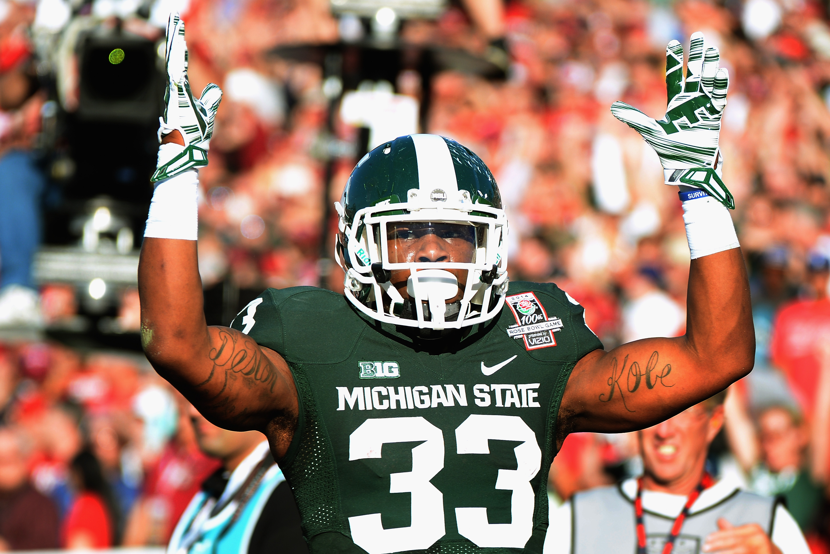 Michigan State Spartans: Running Back Jeremy Langford