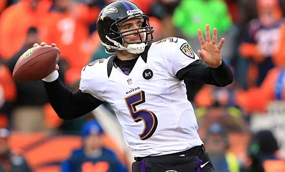 Baltimore Ravens: Quarterback Joe Flacco