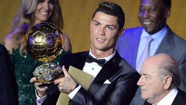 Cristiano Ronaldo - Winning 2013 Ballon d'Or