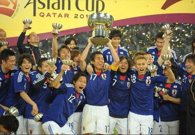 2011 AFC Asian Cup Champions: Japan