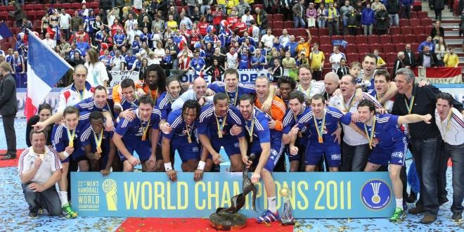 2011 Men's Handball World Champions: France