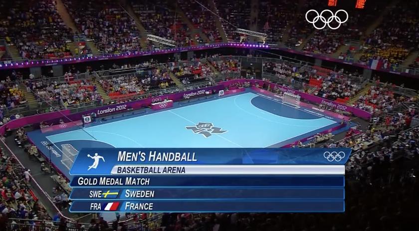 2012 London Olympic Men's Handball Gold Medal Game: France vs. Sweden