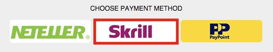 Purchase a BetOnValue Subscription Plan via Skrill