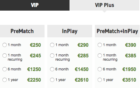 OddStorm VIP Plus Subscription Plan