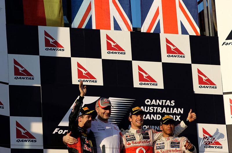 2012 Australian Grand Prix Winner - Jenson Button