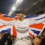 2014 Formula 1 Drivers Champion - Lewis Hamilton