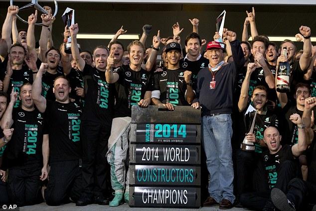 2014 World Constructors Champions - Mercedes