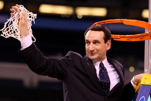 "Mike Krzyzewski ""Coach K"" - Cutting Down the Net"