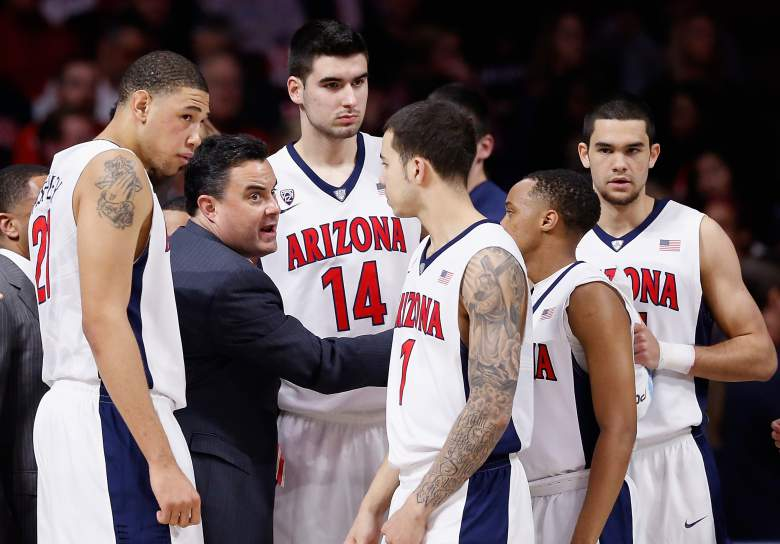 University of Arizona Basketball Team