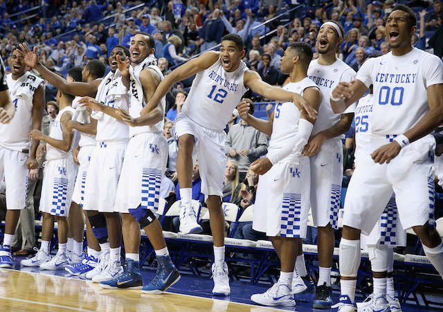 University of Kentucky Basketball Team