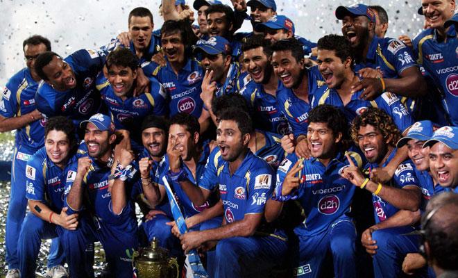 2013 Indian Premier League Winners - Mumbai Indians