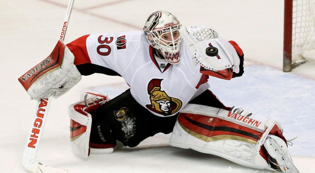 Ottawa Senators Goalie Andrew (Hamburglar) Hammond
