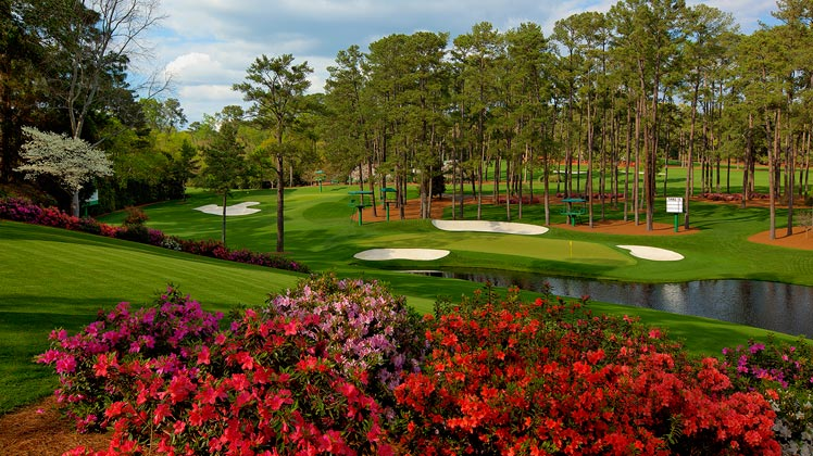 Scenery at the Masters