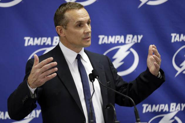 Tampa Bay Lightning General Manager Steve Yzerman