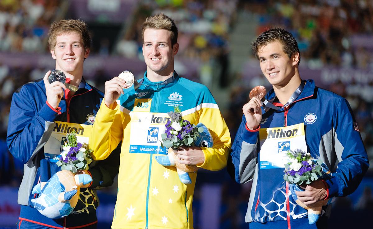 2013 FINA World Championships - Men's Medal Winners