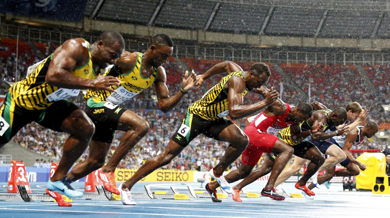 2013 Moscow World Championships: Men's 100m Final
