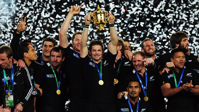 2011 Rugby World Cup Champions New Zealand