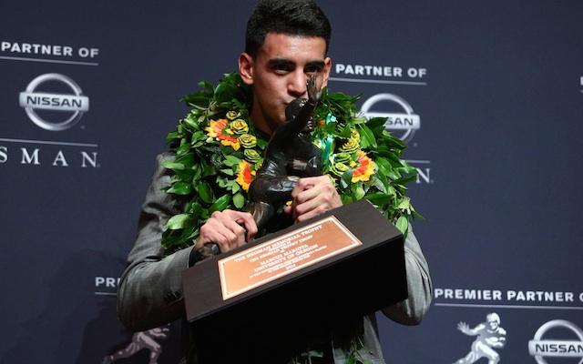 Heisman Trophy Winner Marcus Mariota