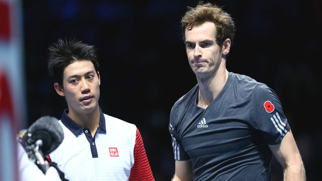 2014 ATP World Tour Finals Nishikori vs. Murray