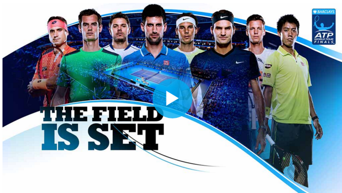 2015 ATP World Tour Finals Participants