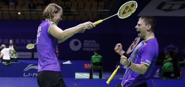 German Mixed Doubles Team - Birgit Michels & Michael Fuchs