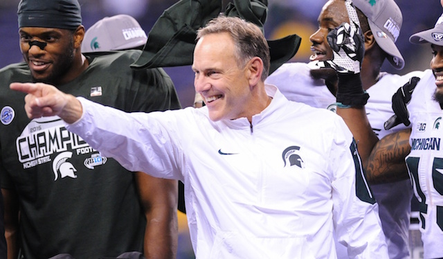 Michigan State University Head Coach - Mark Dantonio