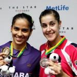 Saina Nehwal & Carolina Marin