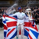 2015 Formula 1 Drivers Champion - Lewis Hamilton