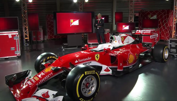 2016 Ferrari Formula 1 Race Car