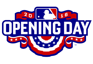 2016 MLB Opening Day Logo