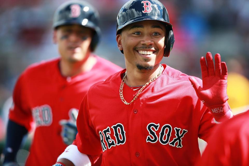 Boston Red Sox - Mookie Betts