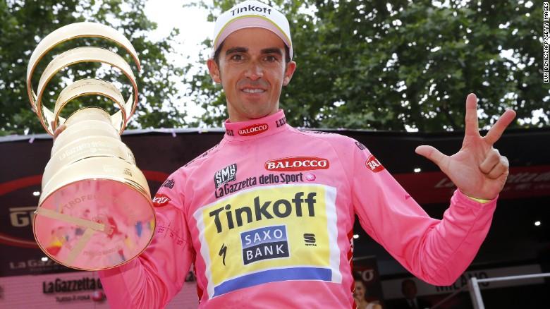 2015 Giro d'Italia Winner - Alberto Contador