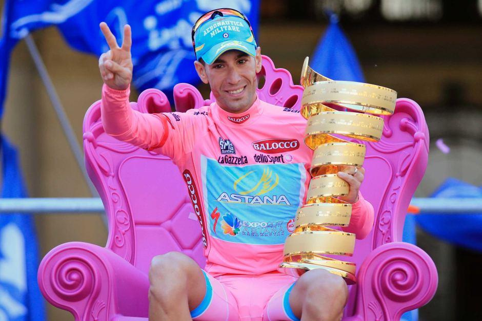 2013 Giro d'Italia Winner - Vincenzo Nibali