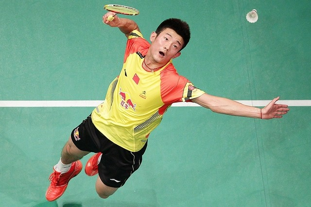 Chinese Badminton Player