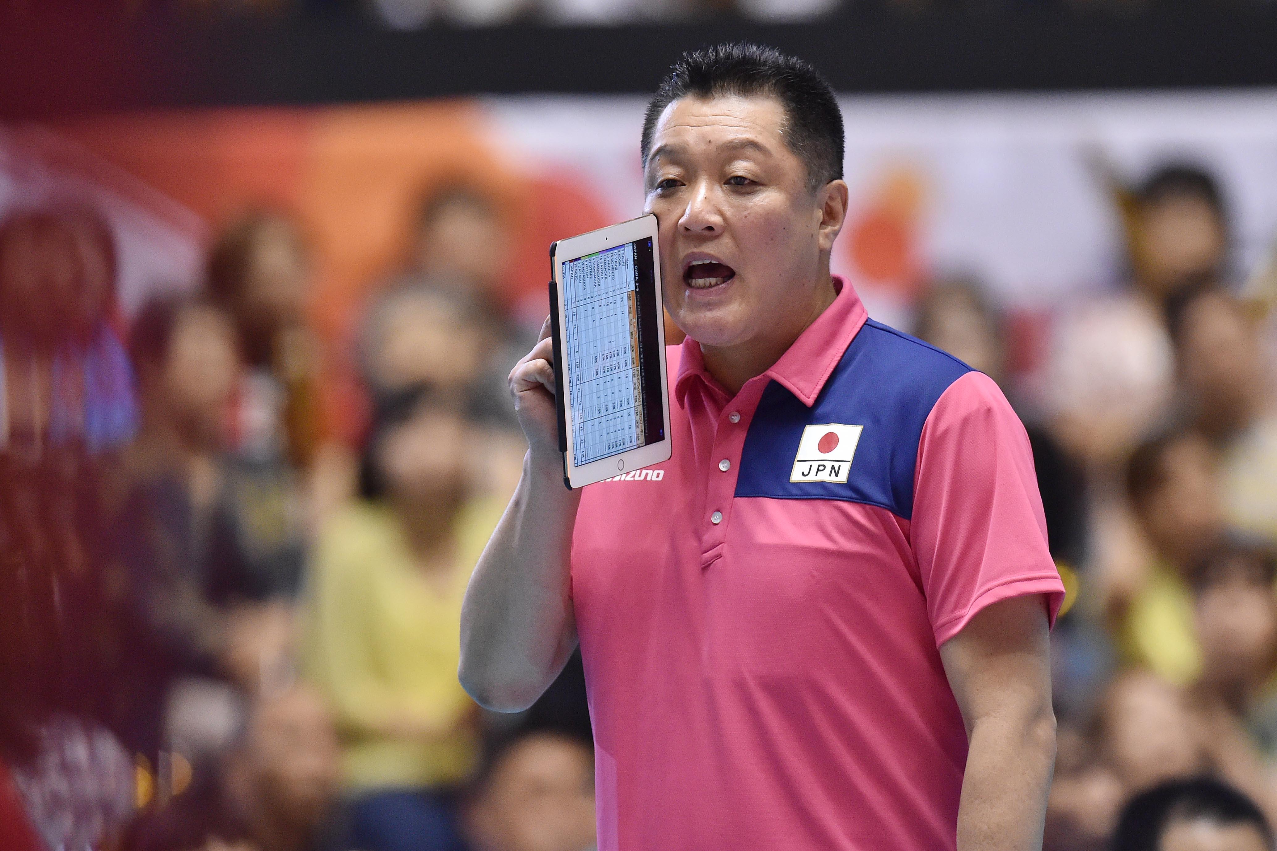 Japan Head Coach - Masayoshi Manabe