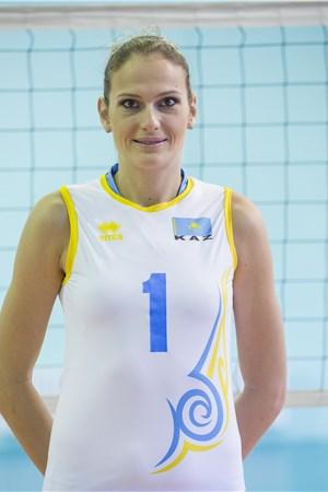 Kazakhstan Player Tatyana Mudritskaya