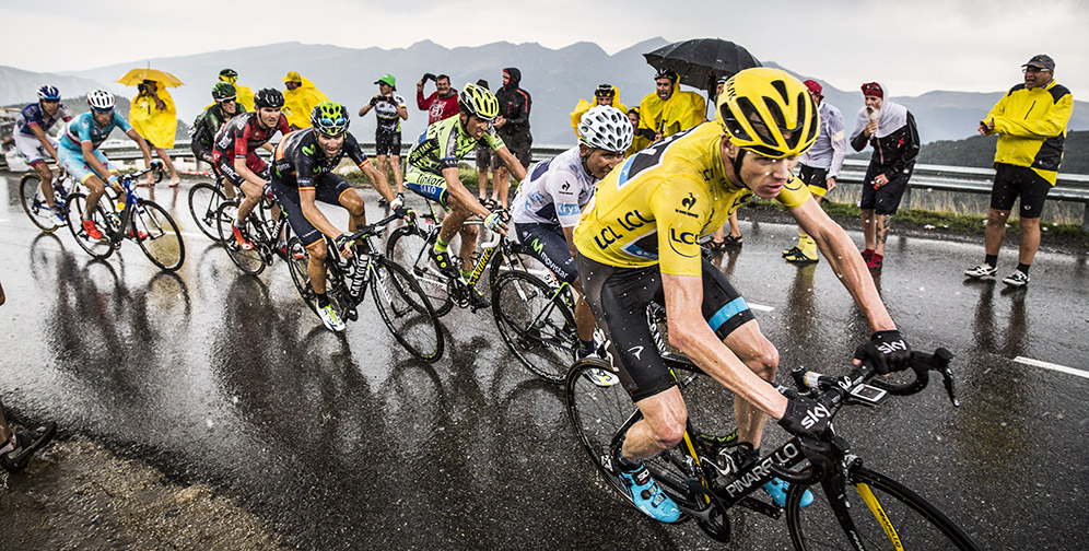 2015 Tour de France - Chris Froome (Yellow Jersey)