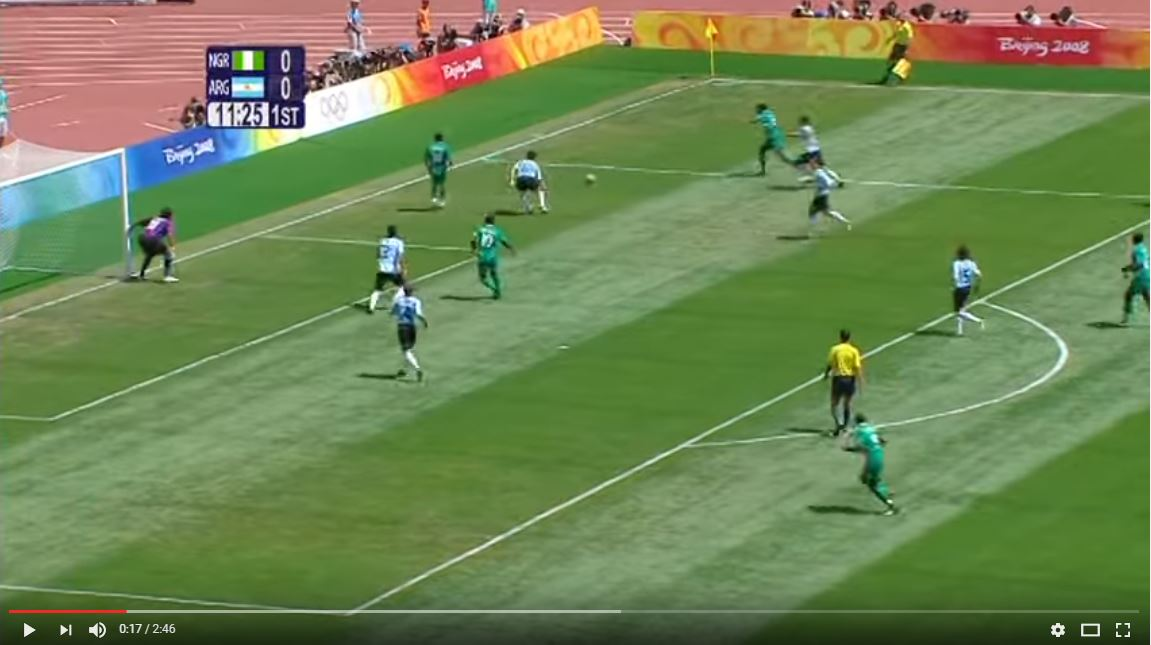 2008 Beijing Olympics Men's Football Gold Medal Game Highlights: Argentina vs. Nigeria